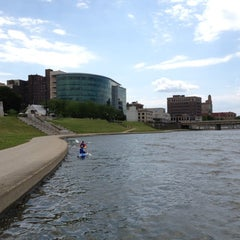 Photo taken at RiverScape MetroPark by Jax on 6/2/2012