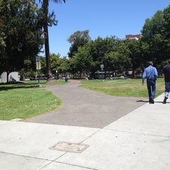 Photo taken at VTA Lightrail North Saint James Station by Lorraine E. on 7/19/2012