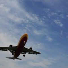 """Photo taken at Aeroporto di Orio al Serio """"Il Caravaggio"""" (BGY) by Marco M. on 7/10/2012"""