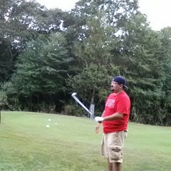 Photo taken at Whaling City Golf Club by Andrew C. on 8/10/2012