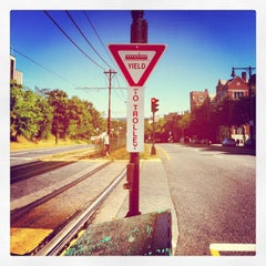 Photo taken at MBTA Green Line - B Train by Ryan H. on 9/11/2012