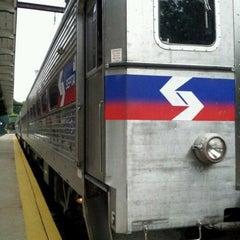 Photo taken at SEPTA Chestnut Hill East Station by Dakeem H. on 7/13/2012