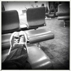 Photo taken at Gate B33 by Ryan S. on 2/6/2012