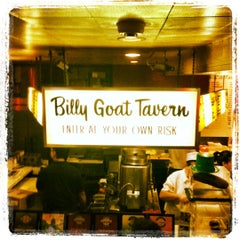 Photo taken at Billy Goat Tavern by Becks on 7/11/2012