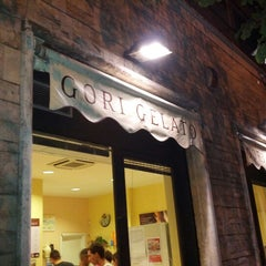 Photo taken at Gelato Gori by Roberto P. on 9/11/2012