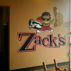 Photo taken at Zack's Hotdogs & Hot Sandwiches by Eric E. on 3/9/2012