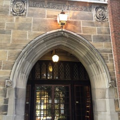 Photo taken at Hoskins Library by Allen R. on 9/1/2012