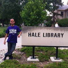 Photo taken at Hale Library by Mani J. on 5/11/2012