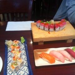Photo taken at Sushi Rock by Justin R. on 5/2/2012