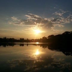 Photo taken at Fish Lake Park by Kelly M. on 7/22/2012