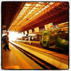 Photo taken at LRT 2 (Araneta Center-Cubao Station) by Alvin L. on 7/9/2012
