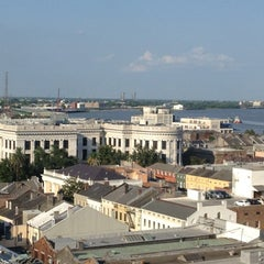 Photo taken at Astor Crowne Plaza – New Orleans French Quarter by Anne Mims A. on 5/29/2012