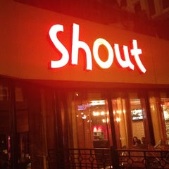 Photo taken at Shout! Restaurant & Lounge by Alexander S. on 4/1/2012