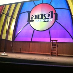 Photo taken at Laugh Factory by Eric F. on 7/15/2012