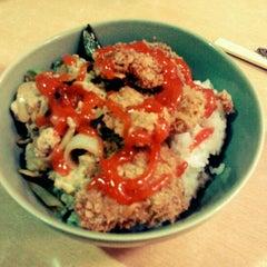 Photo taken at MATOS Food Court by Rifki on 3/29/2012