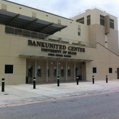 Photo taken at BankUnited Center by Juan F. G. on 5/31/2012