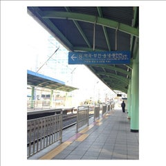Photo taken at 구로역 (Guro Stn.) by chito k. on 4/6/2012