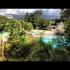 Photo taken at Hotel Sheraton Presidente San Salvador by J. Carlos G. on 8/23/2012