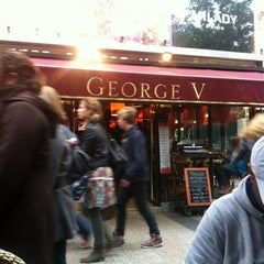 Photo taken at Café George V by mohammad a. on 5/17/2012