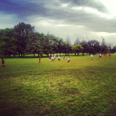 Photo taken at Northeast Athletic Fields by Aaron N. on 7/24/2012