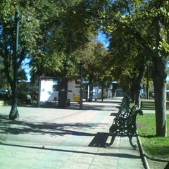 Photo taken at Plaza de Armas de Buin by Nelson P. on 4/29/2012