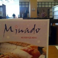 Photo taken at Minado Restaurant by Cynthia P. on 8/23/2012