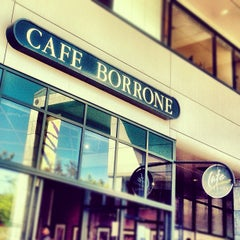 Photo taken at Cafe Borrone by Reza A. on 6/3/2012