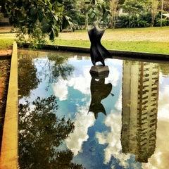 Photo taken at Cinemateca Brasileira by Bob F. on 5/1/2012