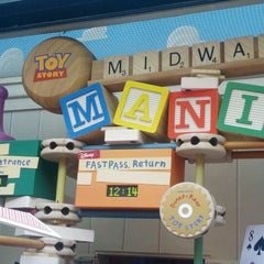 Photo taken at Toy Story Midway Mania by Peter H. on 5/25/2012