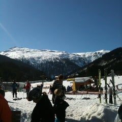 Photo taken at Skigebiet Schlossalm - Angertal / Ski amadé by Jennifer S. on 3/1/2012