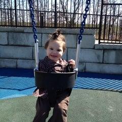 Photo taken at Zachary's Playground - Hawk Ridge Park by Sarah S. on 3/12/2012