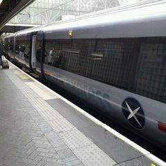 Photo taken at Heathrow Express Train - Paddington [PAD] to Heathrow [HXX] by Yumiko H. on 5/30/2012