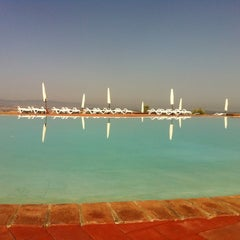 Photo taken at Agriturismo resort Belmonte Vacanze by Paul A. on 8/22/2012
