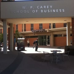 Photo taken at W. P. Carey School of Business by Anu M. on 3/8/2012