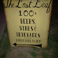 Photo taken at The Lost Leaf by David M. on 2/18/2012