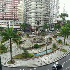 Photo taken at Praça da Independência by Mauricio M. on 3/31/2012