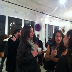 Photo taken at Clic Gallery + Bookstore by David K. on 3/16/2012