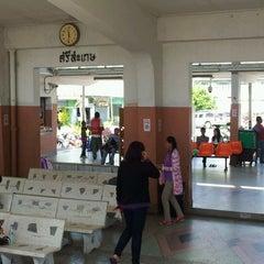 Photo taken at สถานีรถไฟศรีสะเกษ (Sisaket) SRT2273 by Thanakom Y. on 2/4/2012