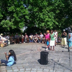 Photo taken at Congo Square by Yvahn on 3/18/2012