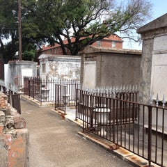 Photo taken at St. Louis Cemetery No. 1 by Todd on 5/14/2012