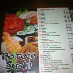 Photo taken at Boteco Sushi by Alexandre L. on 8/15/2012