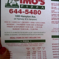 Photo taken at Imo's Pizza by Kimberly P. on 7/16/2012