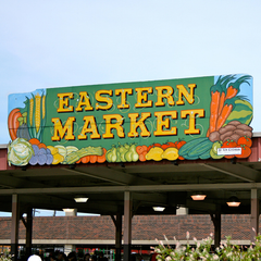 Photo taken at Eastern Market by GQ Magazine on 8/22/2012