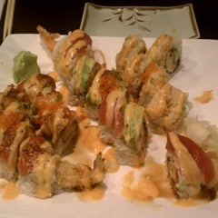 Photo taken at Cherry Sushi by Rachel K. on 3/4/2012
