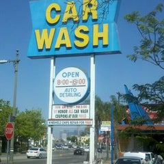Photo taken at Olympic Car Wash by Norimasa S. on 5/31/2012