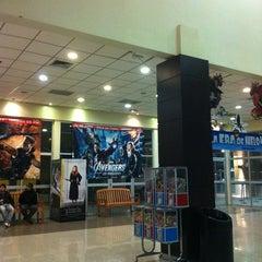 Photo taken at Cinemark by Iván V. on 5/25/2012