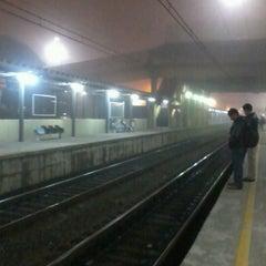 Photo taken at Estação Poá (CPTM) by Alesson N. on 8/2/2012