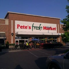 Photo taken at Pete's Fresh Market by Octavia T. on 5/18/2012