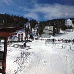 Photo taken at East Peak Lodge by Jennifer W. on 2/23/2012