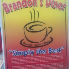 Photo taken at Brandon's Diner by Kevin C. on 4/7/2012